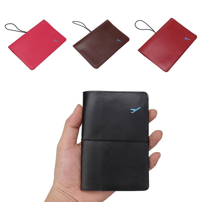 New Fashion Passport Cover Waterproof Passport Holder Designer Travel Passport Wallets For Men Women Documents Card Holder