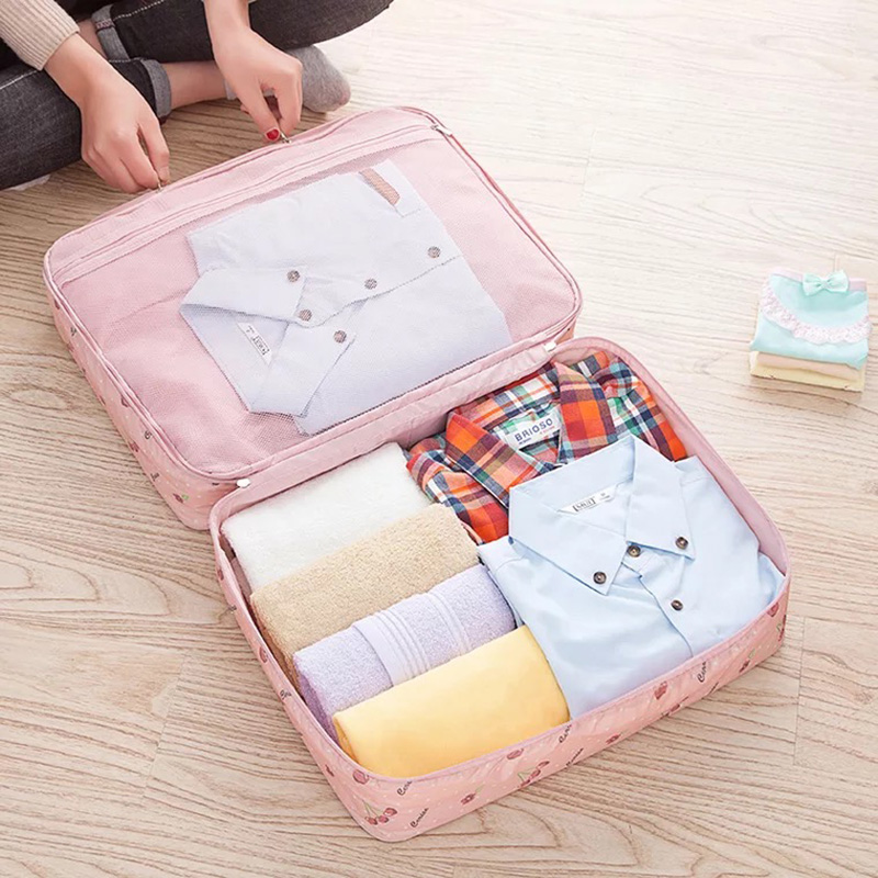 Clothes receive bag to travel Travel luggage for travel Laundry and undergarment wrap bag