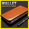 F1s case capa carteira de couro case para oppo oppo f1s capa case bolsa cavalo louco bolsa oppo f1s phone case