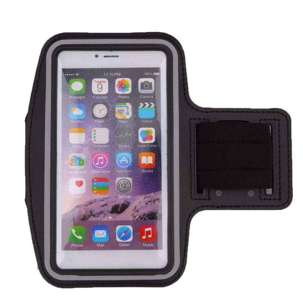 Ready Stock Premium Running Bag Jogging Sports GYM Armband Case Cover Holder For IPhone 6 Plus/ 5.5 Inch
