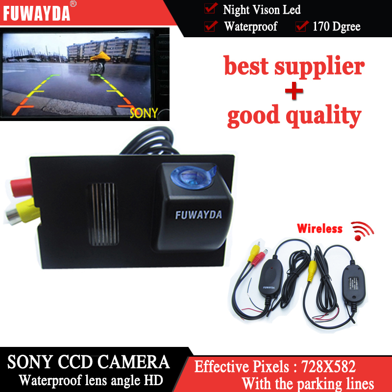 FUWAYDA Wireless SONY CCD Car Rear View Reverse CAMERA for LAND ROVER FREELANDER/ DISCOVERY 3 4/ RANGE ROVER SPORT leewa car reverse rear view camera for land rover freelander 2 discovery 3 4 range rover sport ca1281