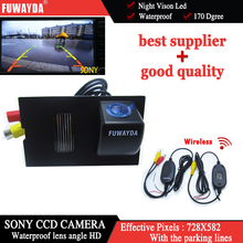 FUWAYDA Wireless SONY CCD Car Rear View Reverse CAMERA for LAND ROVER FREELANDER/ DISCOVERY 3 4/ RANGE ROVER SPORT
