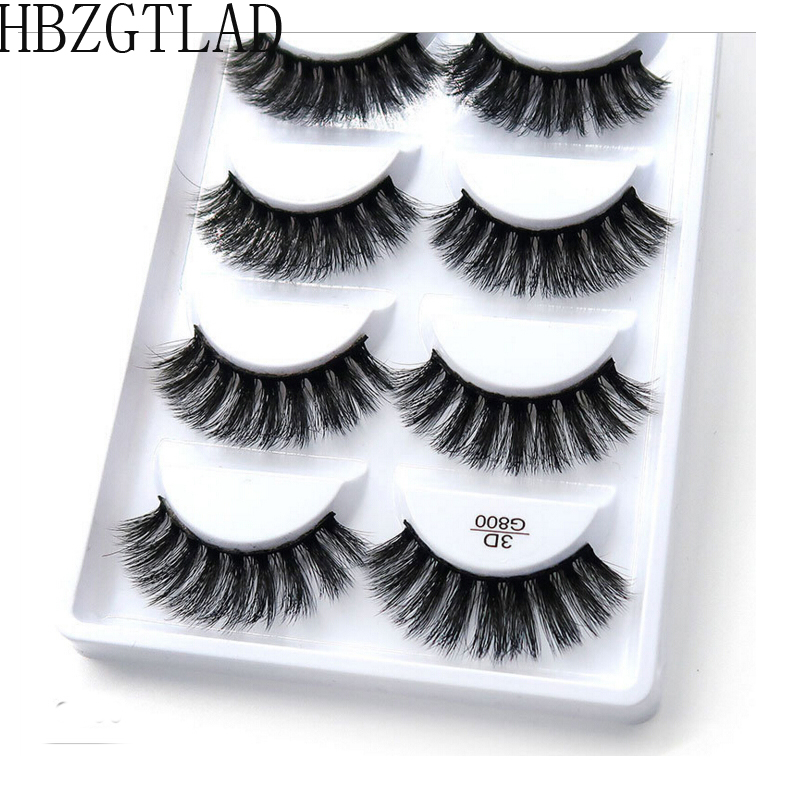 250 pairs 50box 100 Real Mink Fake Eyelashes 3D Natural False Eyelashes 3d Mink Lashes Soft
