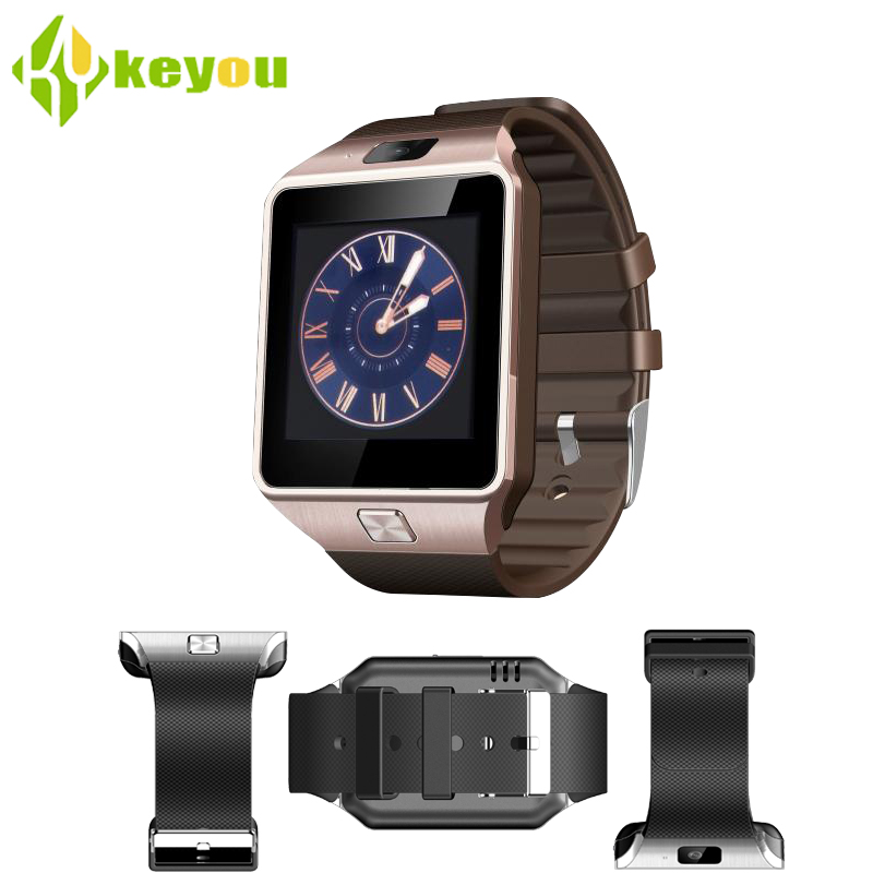 digital dz09 Smart watch handgelenk mit men bluetooth sim-karte sport smartwatch for Sleep Tracker android iphone watch