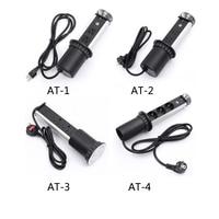 2019 USA/UK/EU/AU hidden kitchen tabletop pop up socket power orvibo 1 led+3*power+2 charge USB Aluminum shelf silver/black cap