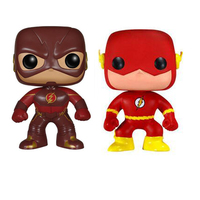 Super Hero The Flash 10cm Figure Collection Model Toys