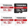 TOSHIBA Micro SD Card 16GB 32GB 64GB 128GB Class 10 SDHC/SDXC U3 Memory Card Micro SD TF Card  for Cellphone Tablet Smart Device