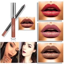 Waterproof Lip Liner Pencil Long Lasting Lipliner + Lipstick perfect combination Make up Tools sets