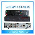 10pcs Best price original zgemma-star 2s hd combo DVB-S2+S2 satellite tv receiver  zgemma 2s IPTV box hot sell in uk