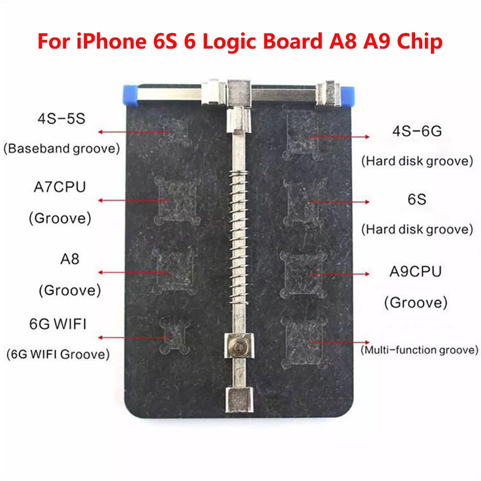 Hot Sale Universal Stainless Steel Circuit Board Pcb Holder Fixture Details About Tool Fixtures Repair Kit For Work Station Iphone Mobile Phone Pda Mp3 Electric Tools