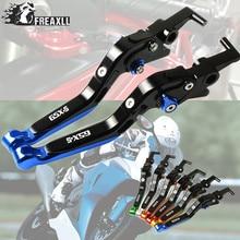 Motorbike Accessories CNC Motorcycle Brake Clutch Levers Adjustable Folding Extendable For SUZUKI GSXS GSX-S GSX-S150 2017-2018 цена в Москве и Питере