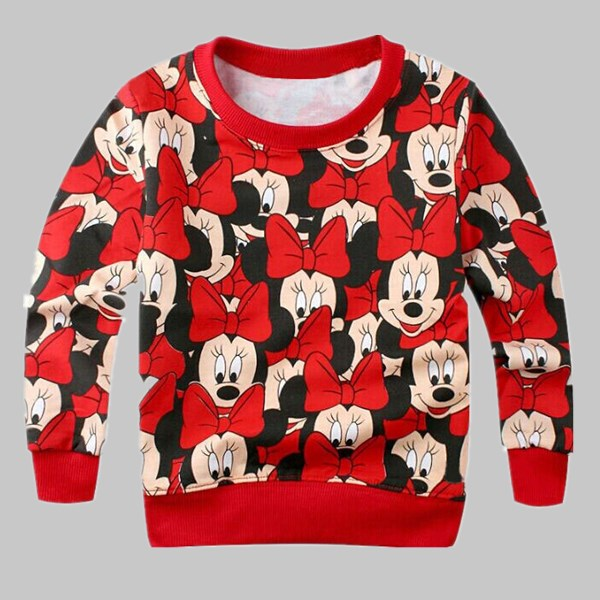 2017 Spring New Arrival Baby Girls boys Clothes terry sweater cartoon long sleeve T-shirt jerseys baby kids Sweatshirts