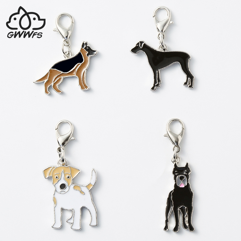 Military Necklace Fox Repeat Custom Zinc Alloy Pendant Necklace Dog Tags