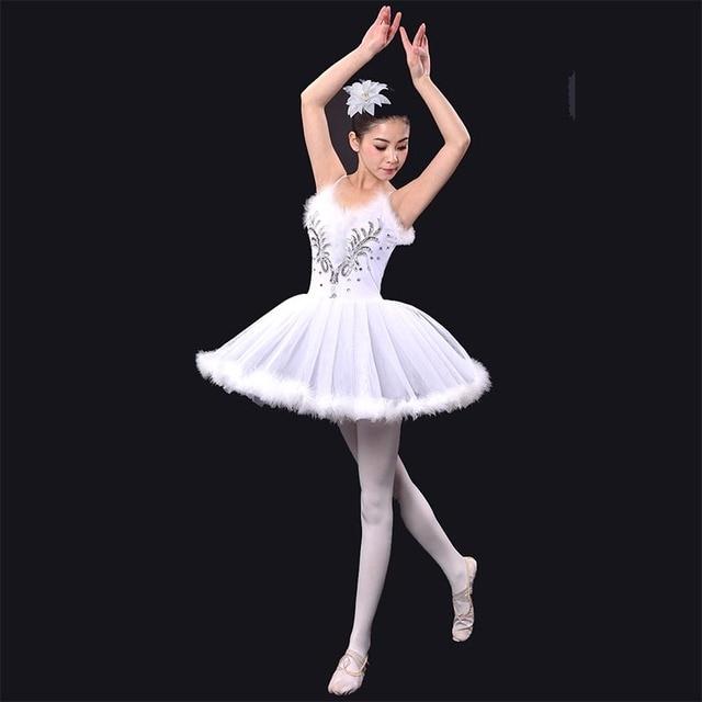 8444416650 Swan lake ballet feminino dress tutu de balé adulto roupas de dança  vestidos de bailarina meninas
