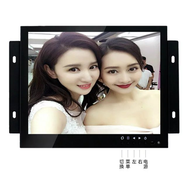 ZGYNK / 10 inch Open Frame Industrial monitor/ metal monitor with VGA /AV/BNC/HDMI monitor white 8 inch open frame industrial monitor metal monitor with vga av bnc hdmi monitor