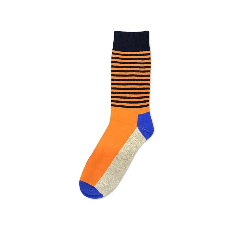 Dropwow Men Socks Brand Cartoon Fish Bone Printed Pattern Cotton Hip ... 2c4efb3a806