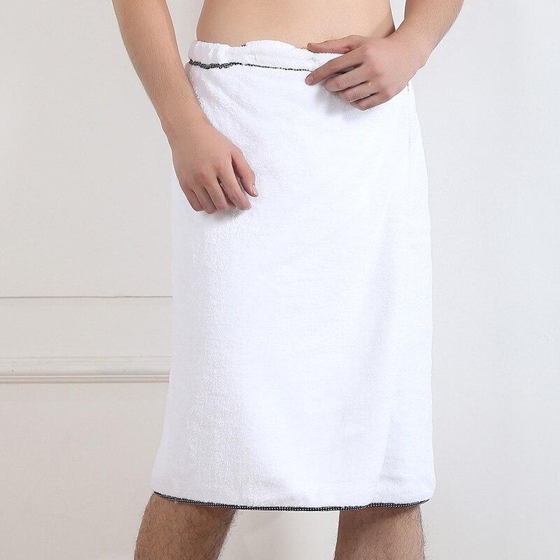 Men Fast Drying Wearable Bath Towel Shower Bath SPA Wrap Body Beach Bathro Hot