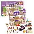 Bela 10547 chicas amigos heartlake grand hotel modelo building blocks juguetes de los ladrillos de regalo compatible con lepin 41101