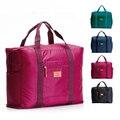 Горячие Продажи Складной бренд дизайнер багажа путешествия сумки организатор водонепроницаемый женщин и мужчин спортивный костюм ручной клади саквояж