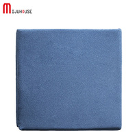 100% Knitted Cotton Back Cushion Pads Kitchen Chairs Lumbar Support Comfort Memory Latex Seat Cushion Home Decor Luxury Cushions