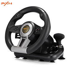PXN V3II Racing Game Steering Wheel USB Game Controller Gamepad Game Joystick for PC Wii Games Wheel for PS3 PS4 Xbox