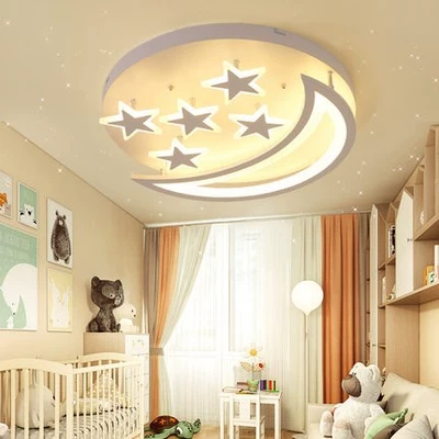 Led Ceiling Lights For Kids Room Lighting Children Baby