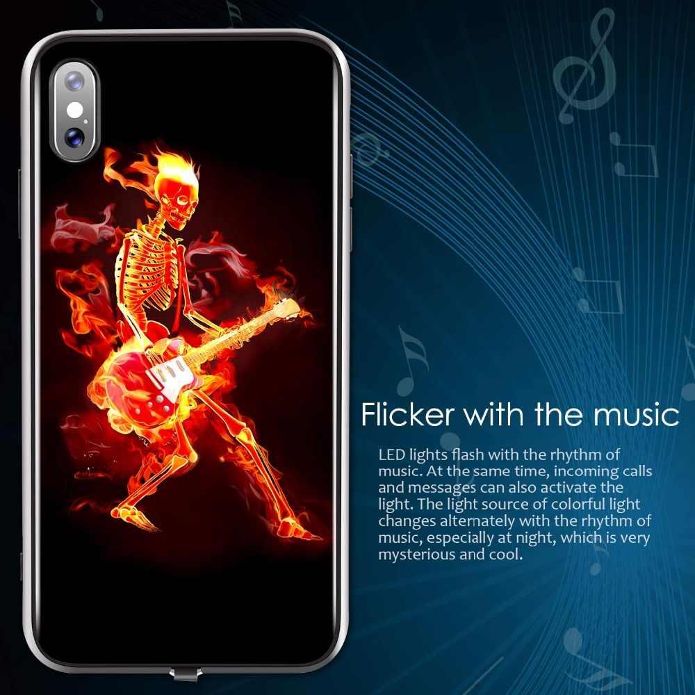 iphone xs flashing case