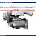 Двигатель турбокомпрессор часть K04 trubolader 53049700032 03L253019H 070145701E для VW T5 Multivan Transporter BNZ 2461cc