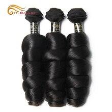 Loose Wave Brazilian Hair Weave Bundles 1 Bundle 100% Human Hair 3 and 4 Bundles Natural Color Remy Hair Extension Free Shipping все цены
