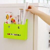Multifunction Self-adhesive plastic storage box cabinets household sundries wall storage rack shelf home organizer