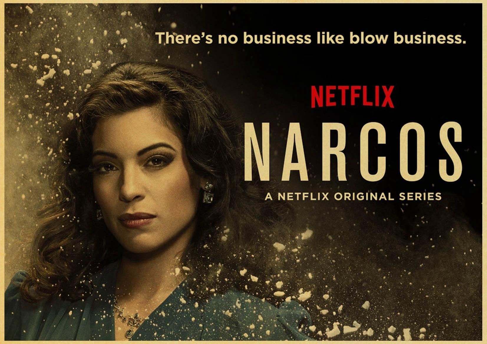 classic portrait narcos colombia pablo escobar crime tv series