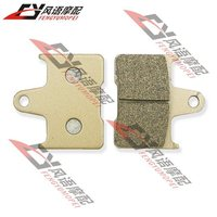 Free Shipping For Honda CB400 VTEC Super Four 1999-2003 1-2 VT750 2010-2012 Motorcycle rear after brake pads ONE PAIR