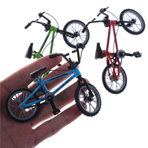 Cute Mini Finger Bmx Toys Mountain Bike BMX Fixie Bicycle Finger Scooter Toy Creative Game Suit Children Grownup 3 Colors