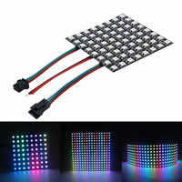 WS2812B RGB Led Panel Screen 8x8/8x32/16x16 Pixels WS2812 IC Chip Individually Addressable Full Color Panel Screen DC5V