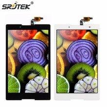Srjtek Para Lenovo Tab 2 A8-50F A8-50LC Tablet PC de Pantalla Táctil Digitalizador + Pantalla LCD Asamblea Parts Negro 100% Probado
