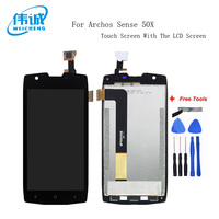 WEICHENG For Archos Sense 50X LCD Display + Touch Screen 100% Screen Digitizer Assembly+Tools Android 7.0
