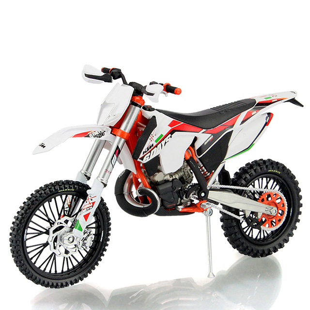 High Simulation Motorcycle Model Toy 1:12 KTM Motocross Mountain ...