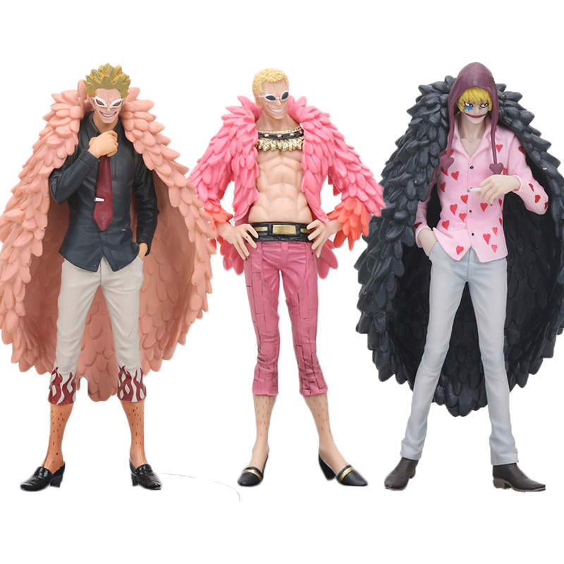 Detail Feedback Questions about 17cm Anime One Piece Action Figure  Doflamingo Corazon Great All For My Heart grandline men PVC Action Figure  Model Toy on ... 419a8e779be3