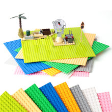 8 Color 32*32 Dots Base Plate for Small Bricks Baseplate Board Compatible figure DIY Building Blocks Toys For Children(China)