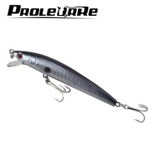 Proleurre 1pcs Hard Plastic Minnow Lure 3D Eyes Crankbait Wobbler Artificial Bait 9.5CM/7.5G Fishing Tackle Crankbait lure bait