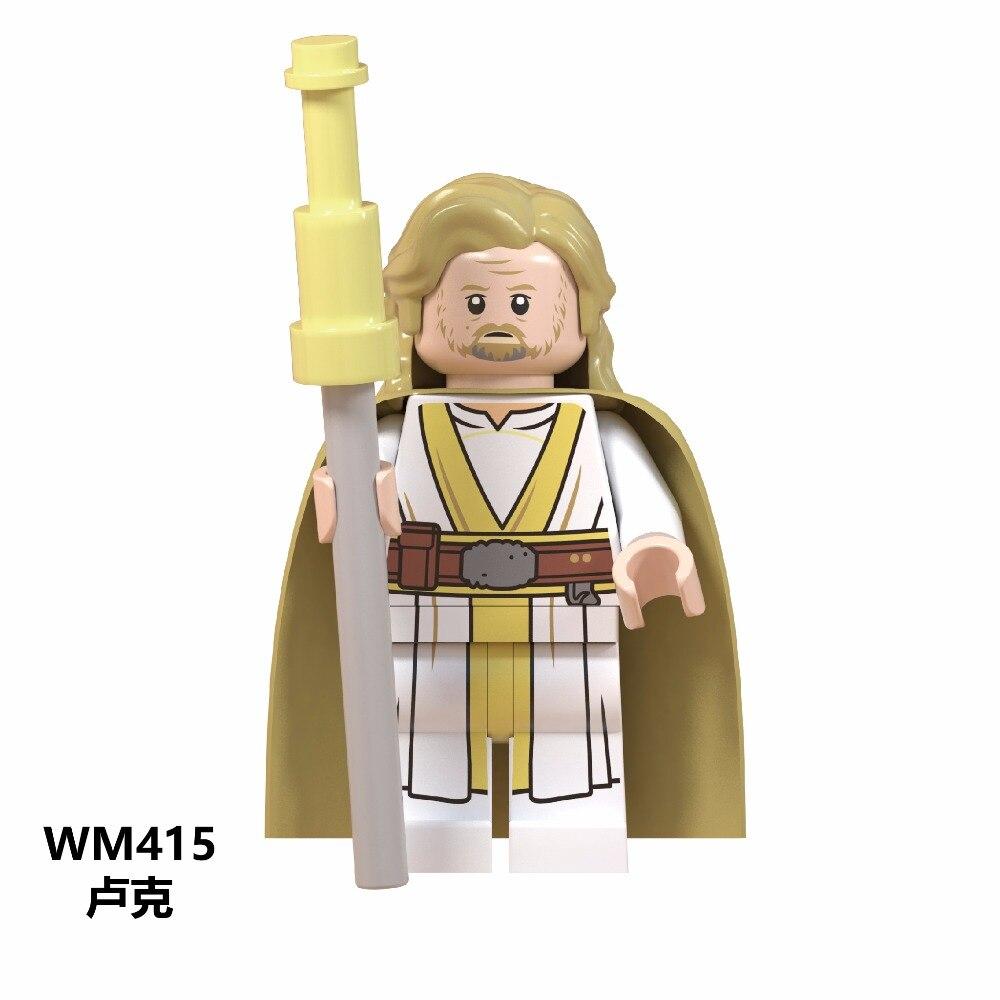 Toys & Hobbies Creative 50pcs Star Wars George Lucas Han Solo Sith Trooper Luke Skywalker Maz Kannata Snoke Figures Building Block For Children Toy Blocks