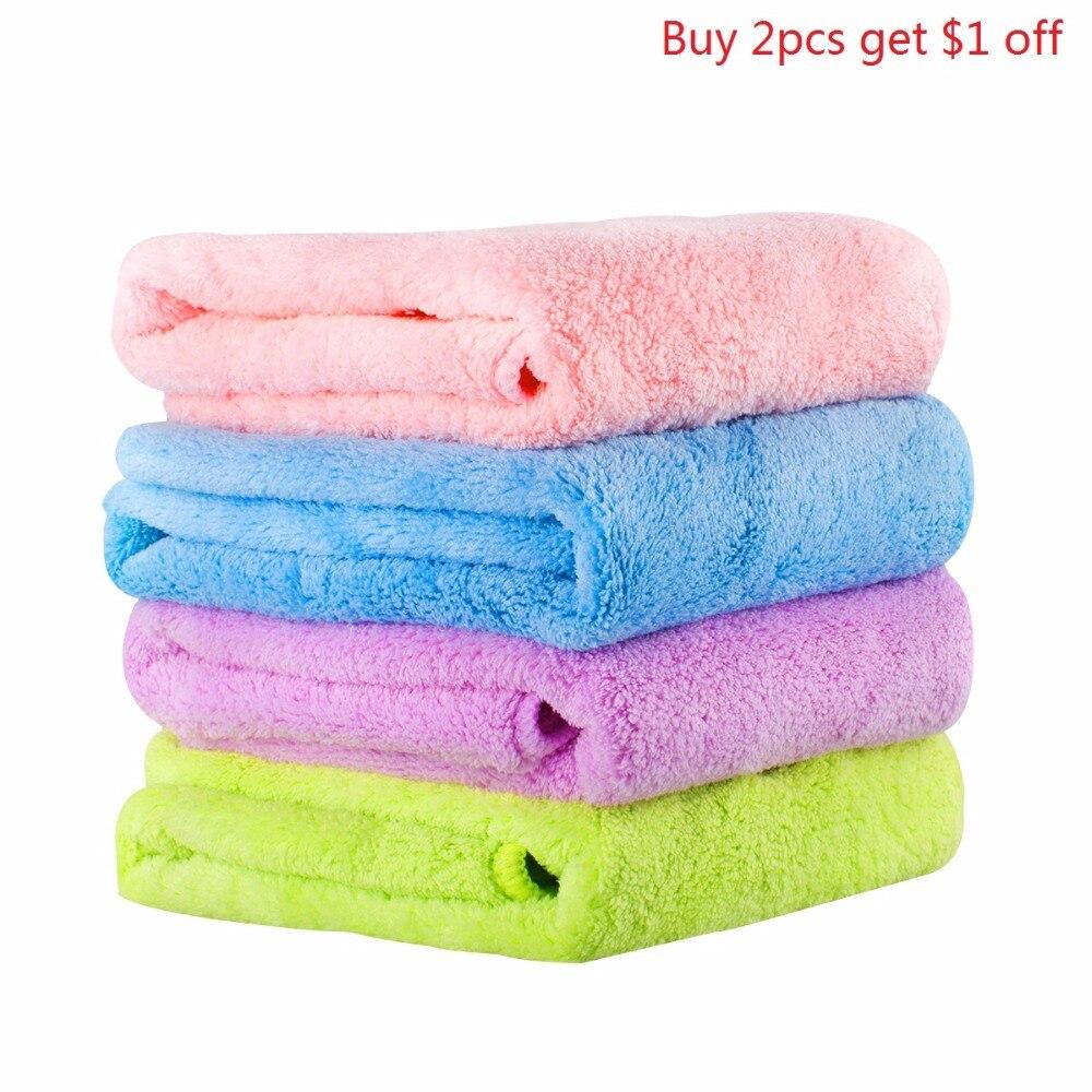1 unids toallas de microfibra súper absorbente toallas de absorción - Textiles para el hogar