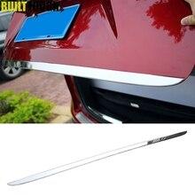 Для Mazda Cx-5 Cx5 2012 2013 хромированная Задняя Крышка багажника задняя крышка-дверца отделка багажника отделка края молдинг отделка полосы