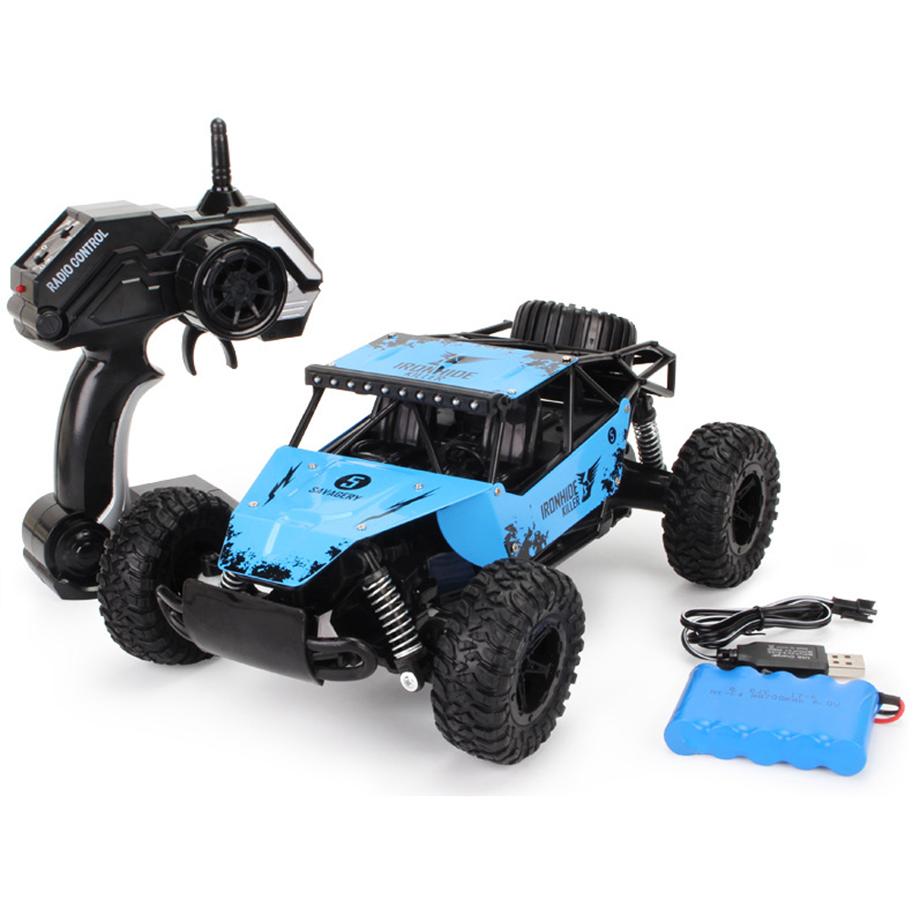 1:16 RC Car Remote Control High Speed Vehicle Cross-country Drift Off Road Model Car Alloy Remote Control Toy Car