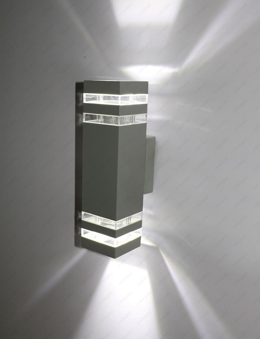 6W8W10W14W LED Outdoor Wall Sconces UpDown Light Waterproof Door Garage Patio Lamp Fixture