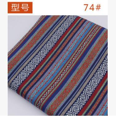 150cm szerokości etniczne artystyczne Style grube paski