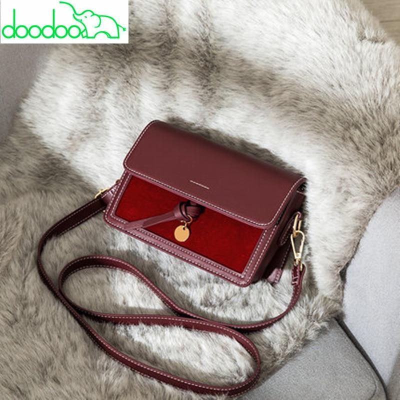 6 Colors Casual Panelled Shoulder Messenger Bags Luxury Fashion High Quality Women Handbags Clutch Purse Flap Louis Channels Bag