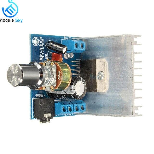 TDA7297 Version B Amplifier Board DC 9-15V 15W*2 Digital Audio Power Amplifier Module Stereo Dual Channel 15W + 15W Amplificador 3