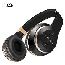 TuZe P7 Bluetooth Headphone Wi-fi Headphones With MIC Help TF Card FM Radio Stereo Bass Headset For Telephone iPhone Xiaomi PC