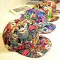 So Cool! niños Casquette Sombrero Diablo de Graffiti Hip Hop Danza Gorra de Béisbol Dom Sombrero de Los Niños Muchachas de Los Muchachos Del Snapback gorras hueso